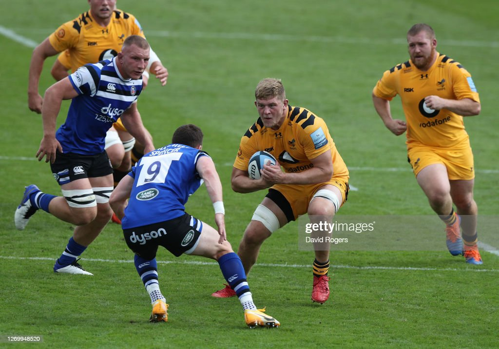 Bath Rugby v Wasps - Gallagher Premiership Rugby : News Photo