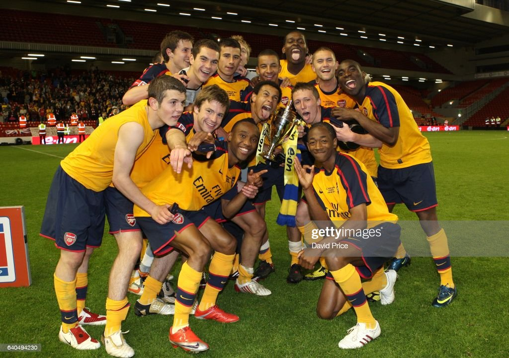 FA Youth Cup Final Second Leg Liverpool v Arsenal : News Photo