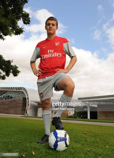 Jack Wilshere of Arsenal during an Arsenal Magazine photoshoot on September 10 2009 in St Albans England