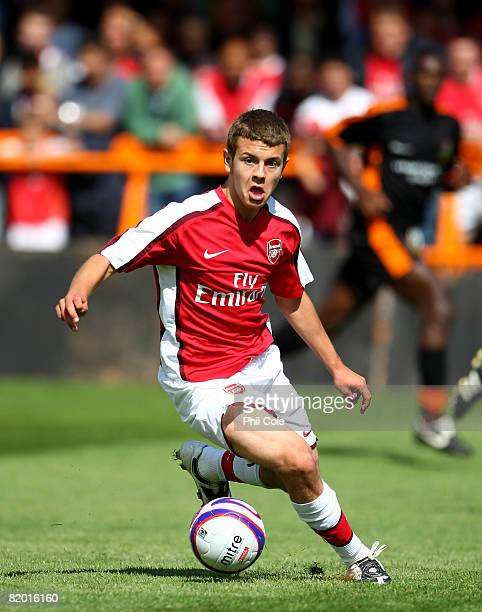 Jack Wilshere of Arsenal during the Pre Season Friendly match between Barnet and Arsenal at Underhill on July 19 2008 in London United Kingdom