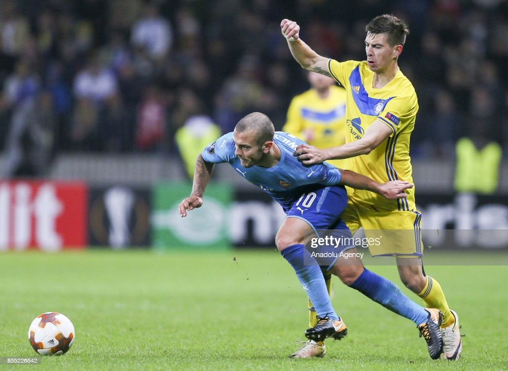 BATE Borisov vs Arsenal FC: UEFA Europa League : News Photo