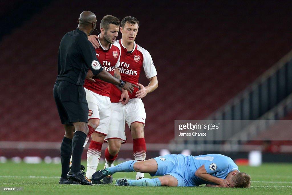 Arsenal v Manchester City: Premier League 2