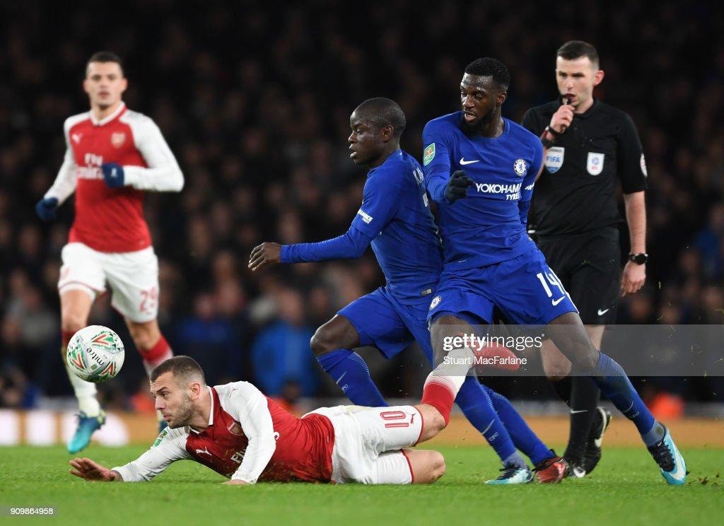 Arsenal v Chelsea - Carabao Cup Semi-Final: Second Leg : News Photo