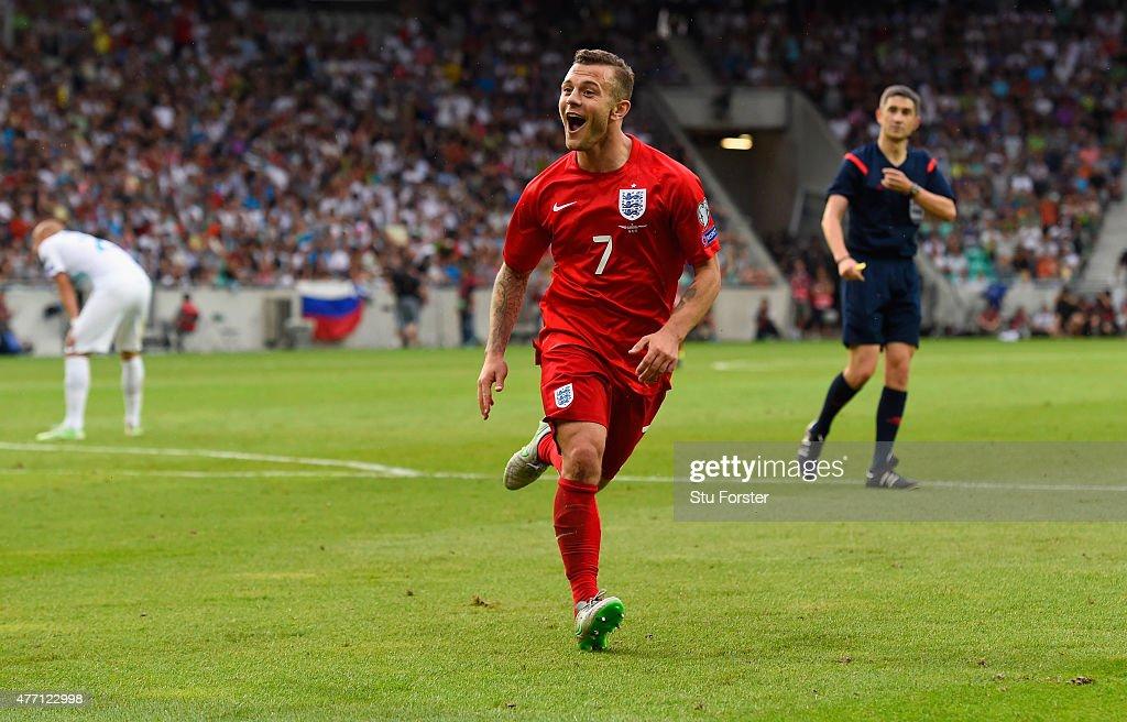 Slovenia v England - UEFA EURO 2016 Qualifier : News Photo