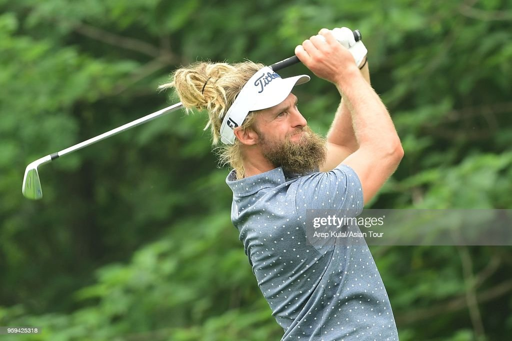 Jack Wilson of Australia pictured during round one of the 2018 Asia Pacific Classic at St. Andrews (Zhengzhou) Golf Club on May 17, 2018 in Zhengzhou, Henan, China.
