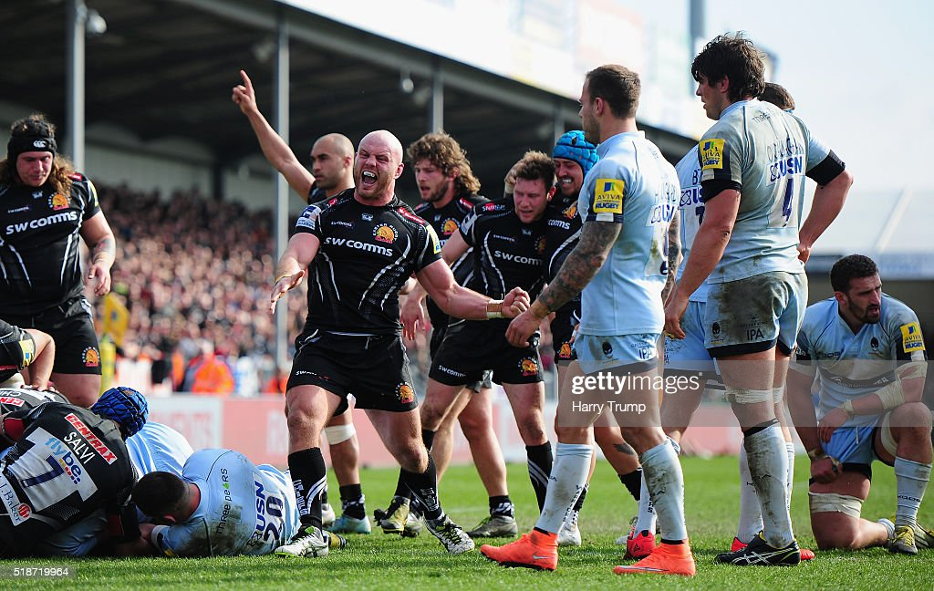 Exeter Chiefs v Worcester Warriors - Aviva Premiership : News Photo