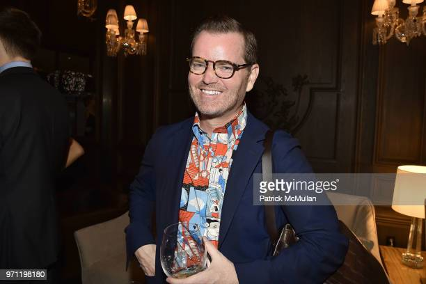 Jack Yeaton attends Christopher R King Debuts New Luxury Brand CCCXXXIII at Baccarat Hotel on June 5 2018 in New York City