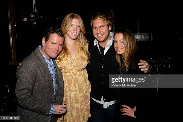Jack Yeaton Kelly Wills Gregory Littley and Kira Bates attend Halston Fall 2008 Fashion Show After Party at Don Hills on February 4 2008 in New York...