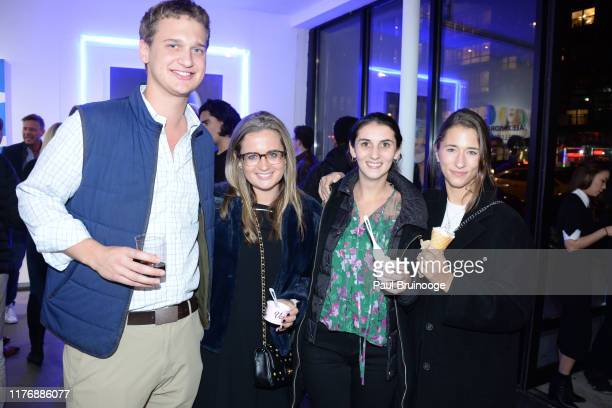 Jack Young Sarah Young Sarah Sperry and Camilla Opperman attend Delusions of the Wild Solo Exhibition By Alexandra Houx Grounds at 213 Bowery on...