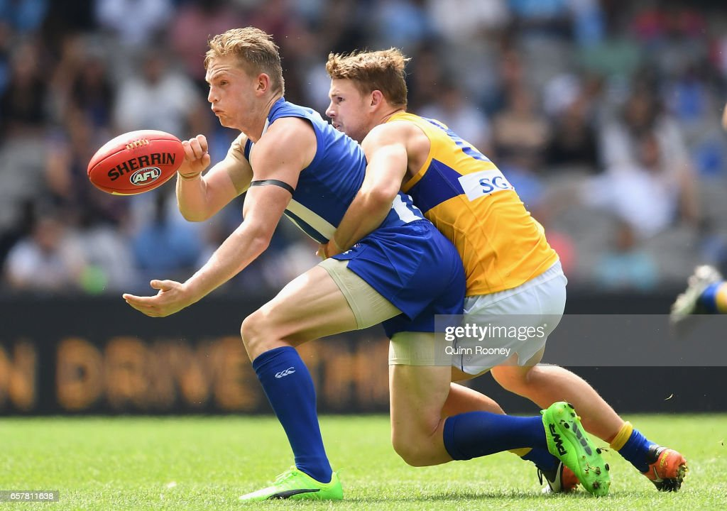 AFL Rd 1 - North Melbourne v West Coast