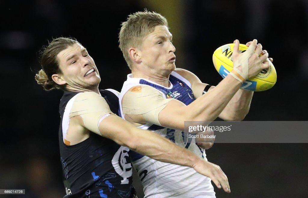 AFL Rd 10 - Carlton v North Melbourne