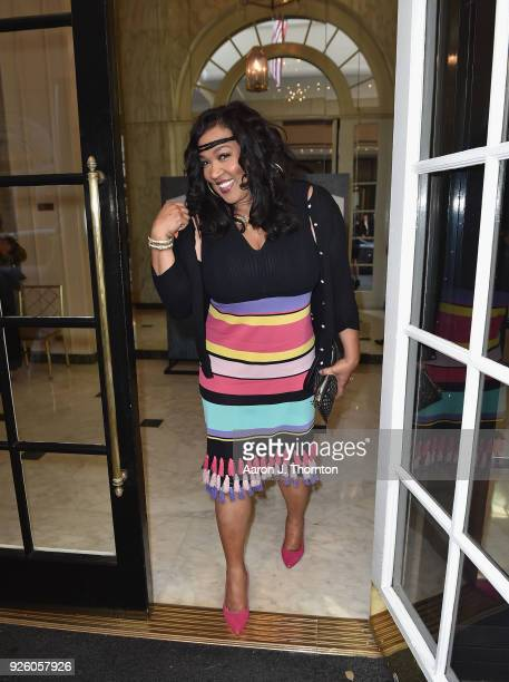 Jackée Harry attends the 2018 Essence Black Women In Hollywood Oscars Luncheon at Regent Beverly Wilshire Hotel on March 1 2018 in Beverly Hills...