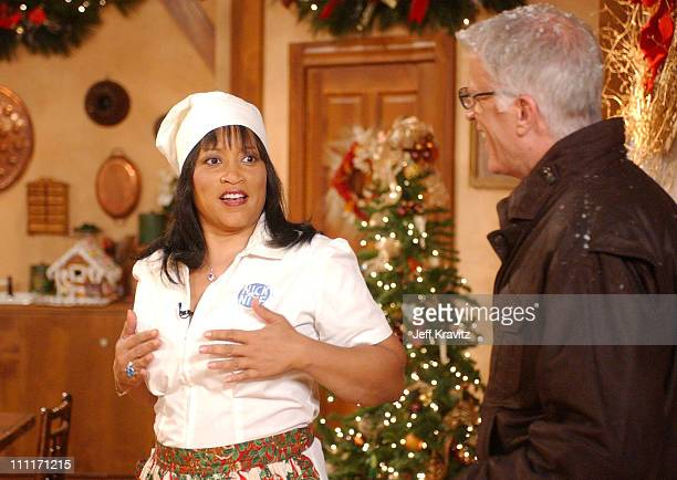 """Jackee and Ted Danson during Nick at Nite Celebrates the Holiday Season with """"The Nick at Nite Holiday Special"""" Airing on Friday, Nov. 28 at CBS..."""