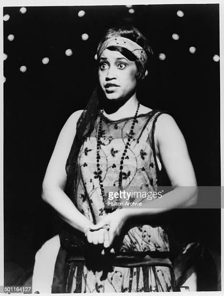 Jackee Harry as Ma Reed sings in the stage play 'One Mo' Time' The Great New Orleans Jazz Musical