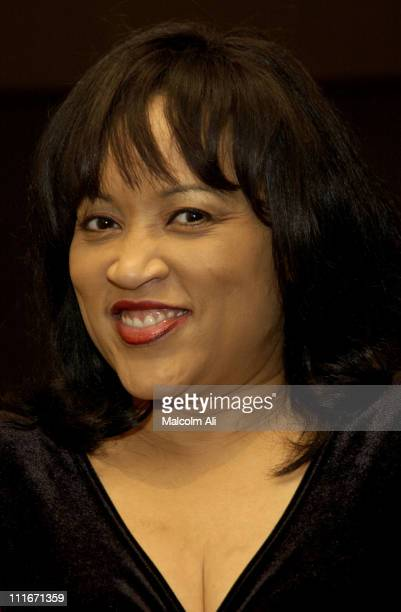 Jackee Harry during Hattie and Harold's on Stage Cabaret at The Alex Theatre in Glendale California United States