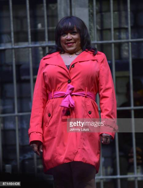 Jackee Harry performs onstage during Priest Tyaire Productions Momma's Boy stage play day 1 at James L Knight Center on November 11 2017 in Miami...