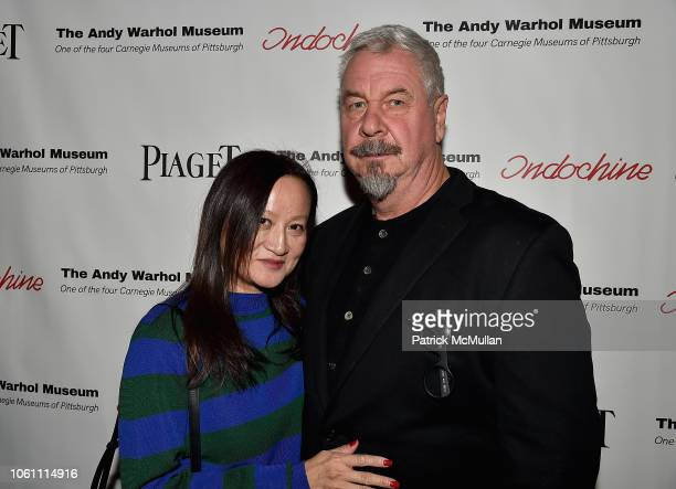 Jackelyn Tram and Jack Shear attend The Andy Warhol Museum's Annual NYC Dinner at Indochine on November 12 2018 in New York New York