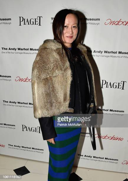 Jackelyn Tram attends The Andy Warhol Museum's Annual NYC Dinner at Indochine on November 12 2018 in New York New York