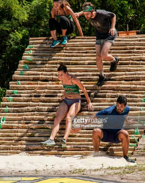 'Jackets and Eggs' Gabby Pascuzzi Alison Raybould Christian Hubicki and Dan Rengering on the fifth episode of SURVIVOR David vs Goliath airing...