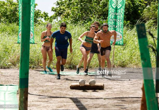 'Jackets and Eggs' Gabby Pascuzzi Dan Rengering Alison Raybould Christian Hubicki and John Hennigan on the fifth episode of SURVIVOR David vs Goliath...