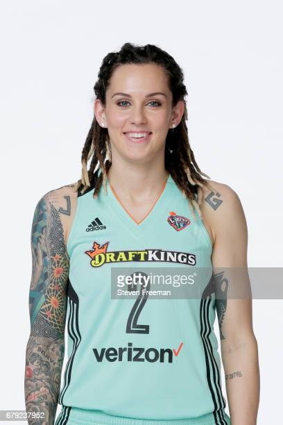 Jacki Gemelos of the New York Liberty poses for a portrait at Media Day at MSG Training Center on May 4 2017 in Tarrytown New York NOTE TO USER User...