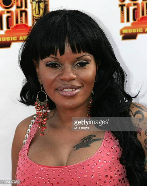 Jacki O during 21st Annual Soul Train Music Awards Arrivals at Pasadena Civic Center in Pasadena California United States
