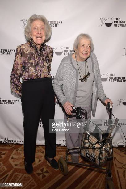 Jacki Silverman and Shirley Cox attend the 2018 Innovation Gala where Chemotherapy Foundation honors Actor Producer and Philanthropist Pierce Brosnan...