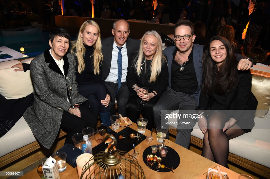 Jacki Weaver And Guests Attend The Bird Box After Party In The