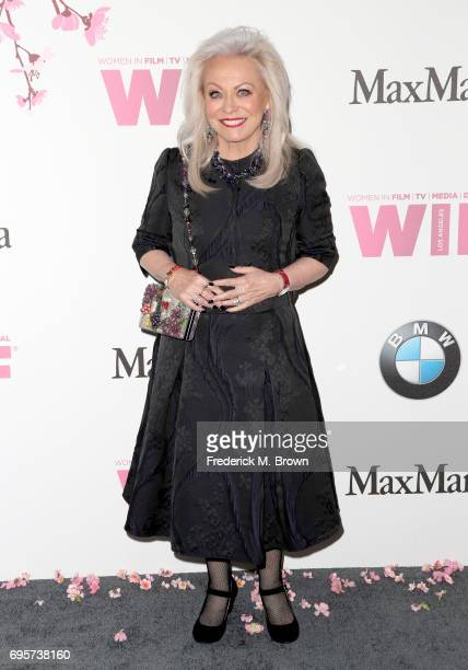 Jacki Weaver wearing Max Mara attends the Women In Film 2017 Crystal Lucy Awards presented By Max Mara and BMW at The Beverly Hilton Hotel on June 13...