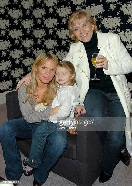 Jackie Adams with daughter Louise Adams with daughter Tallulah