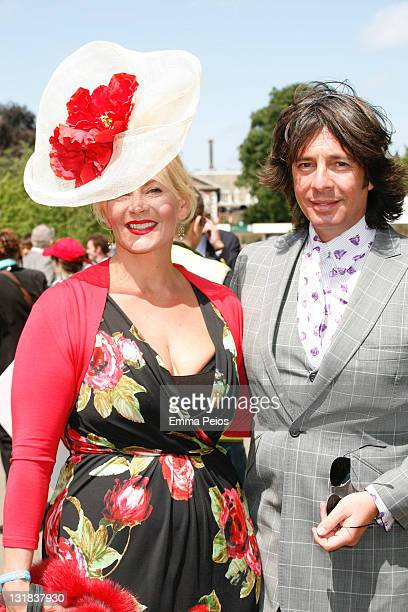 Jackie and Laurence Llewelyn Bowen attend The RHS Chelsea Flower SHow 2011 on May 23 2011 in London United Kingdom