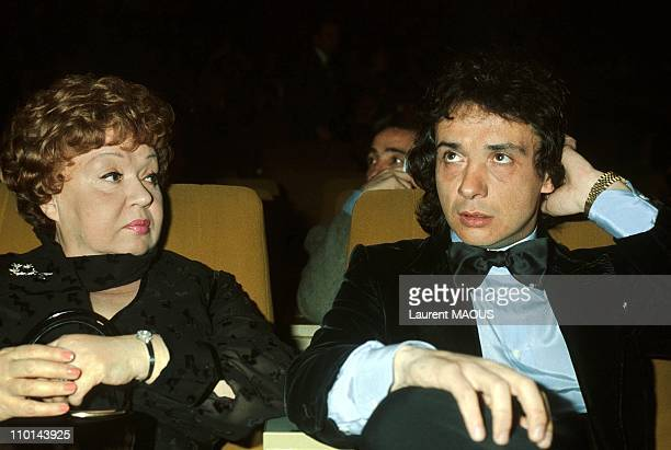 Jackie and Michel Sardou in France in 1977.