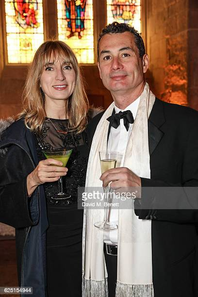 Jackie Annesley and John Offenbach attend the Save The Children Winter Gala at The Guildhall on November 22 2016 in London England