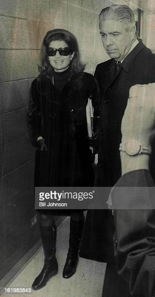 MAR 16 1968 MAR 19 1968 Jackie Arrives Mrs Jacqueline Kennedy widow of President John F Kennedy arrived at Denver's Stapleton International Airport...
