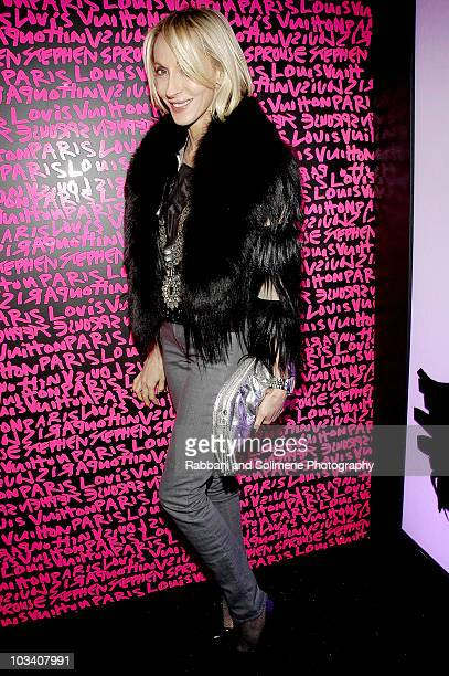 Jackie Astier attends the Louis Vuitton and Marc Jacobs tribute to Stephen Sprouse at the Bowery Ballroom on January 8 2009 in New York City