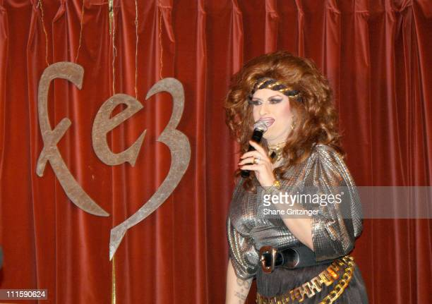 Jackie Beat during Fez Closes its Doors with a Special Performance of Jackie Beat in The Goodbye Girl at Fez in New York City New York United States