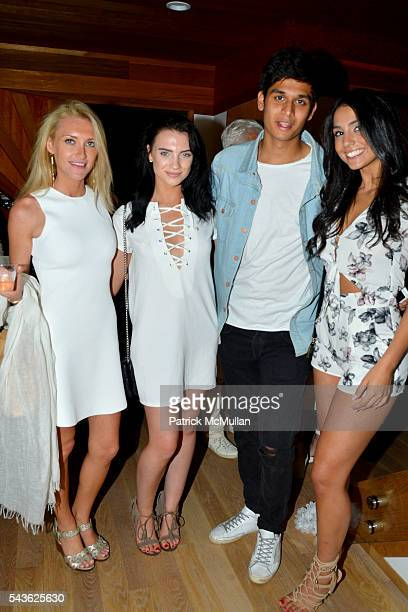 Jackie BelanoffSmith Jessica Trezza Adib Daidi and Alessia Oronzio attend The White Party Janna Bullock Eugenia Bullock and Frederick Anderson...