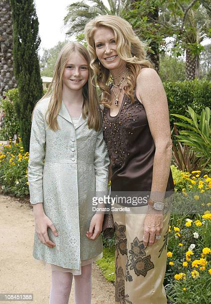 Jackie Beyer and Catherine Beyer during MaxMara and the C.H.I.P.S Host A Luncheon Benefitting The Children's Institute Incorporated at Century Plaza...