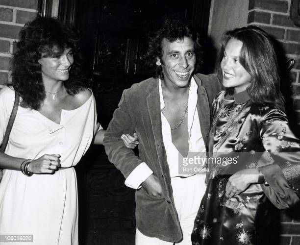 Jackie Bisset Victor Drai and Leigh Taylor Young during Jacqueline Bisset at La Scala in Beverly Hills September 5 1979 at La Scala in Beverly Hills...