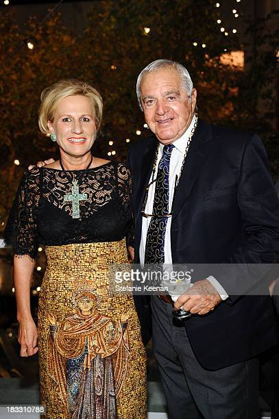 Jackie Blum and Irving Blum attend Hammer Museum 11th Annual Gala In The Garden With Generous Support From Bottega Veneta October 5 Los Angeles CA at...
