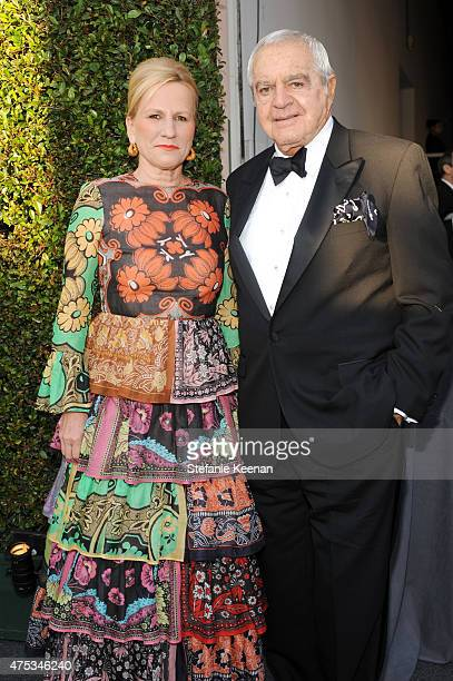 Jackie Blum and Irving Blum attend the 2015 MOCA Gala presented by Louis Vuitton at The Geffen Contemporary at MOCA on May 30 2015 in Los Angeles...