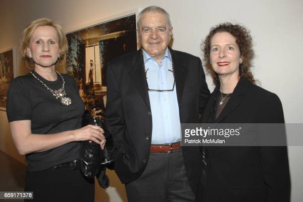 Jackie Blum Irving Blum and Jennifer Kellen attend An Intimate Dinner Hosted By Tierney Gearon and ACE Gallery In Preview of Her New Exhibition...