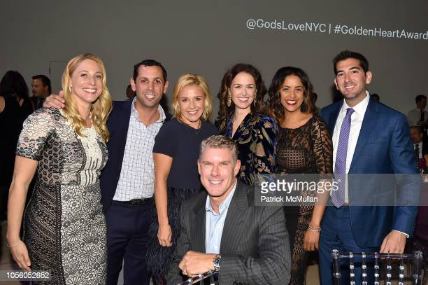 Jackie Bodner Blake Remer Nikki Ludowyke David Lawenda Abbie De La Campa Eva Mendez and Eric Flatow attend The 12th Annual Golden Heart Awards at...