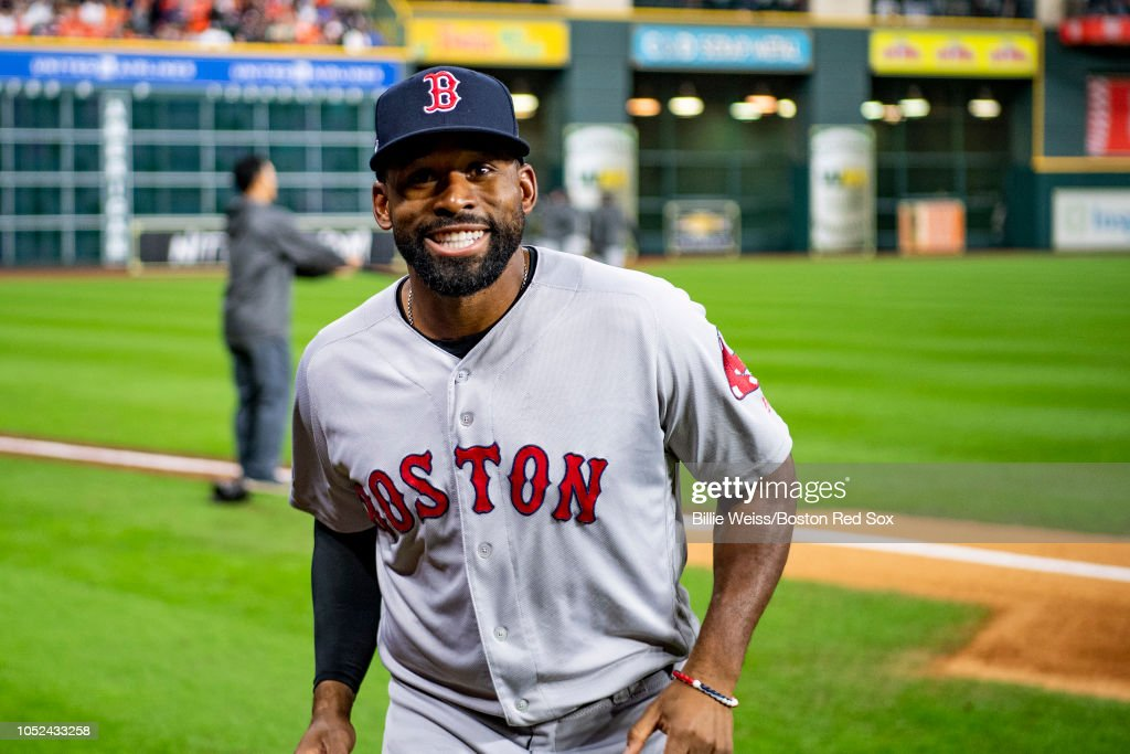 League Championship Series - Boston Red Sox v Houston Astros - Game Four (G) : News Photo
