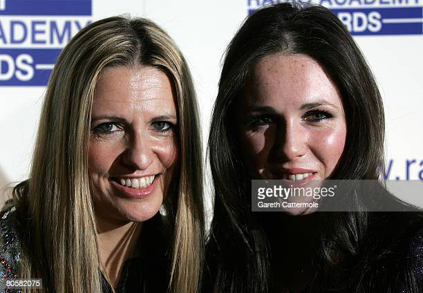 Jackie Brambles and Sandi Thom attend the Sony Radio Academy awards nominations launch on April 9, 2008 in London, England.