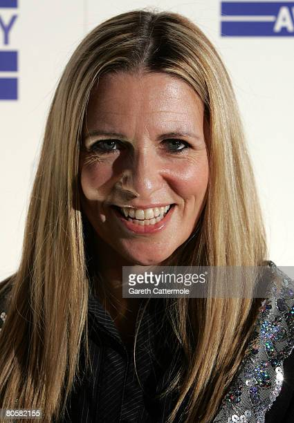 Jackie Brambles attends the Sony Radio Academy awards nominations launch on April 9, 2008 in London, England.