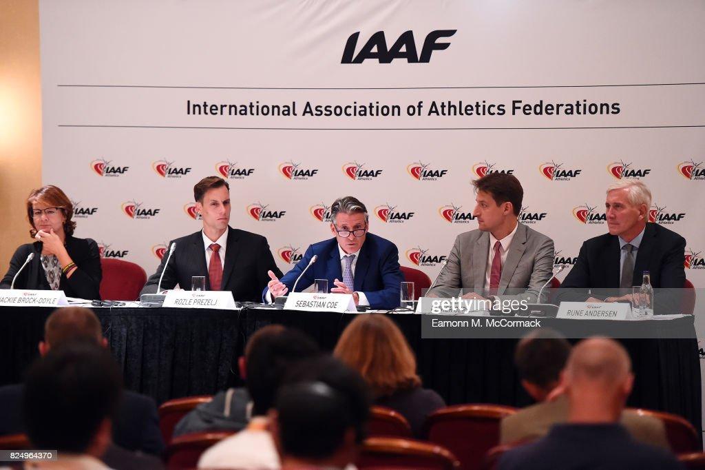 210th IAAF Council Meeting : News Photo