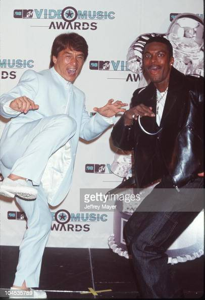 Jackie Chan And Chris Tucker During 1998 Mtv Video Music