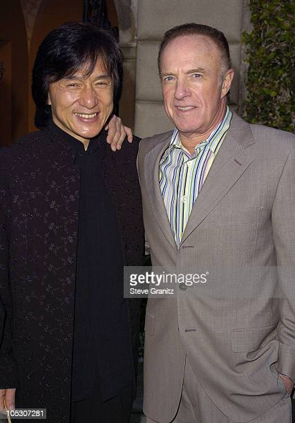 Jackie Chan and James Caan during Chrysalis Third Annual Butterfly Ball Will Raise Money to Help Economically Disadvantaged and Homeless Find Jobs at...