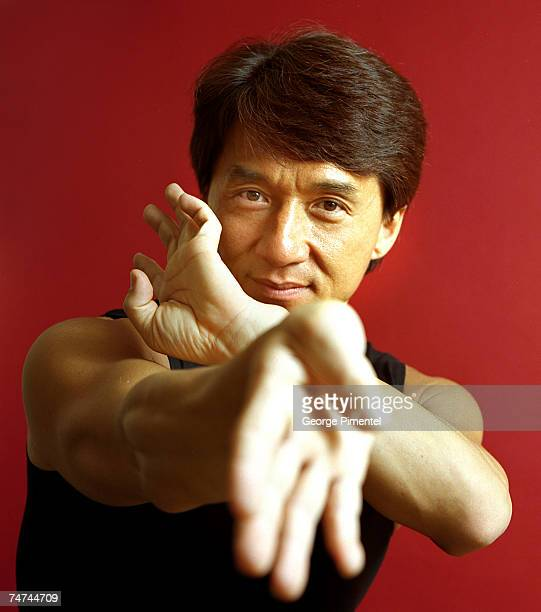Jackie Chan at the Four Seasons Hotel in Toronto Canada
